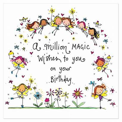 Birthday Wishes Magic Million Lucy Cards Card