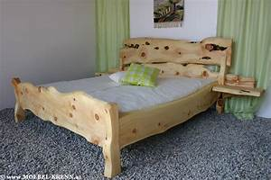 Massive Zirben Betten Vom Profitischler Aus Sterreich