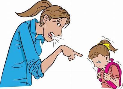 Scolding Mother Clipart Clip Parenting Daughter Fotolia