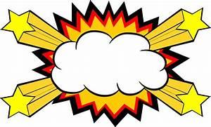 5 Comic Explosion Bubble PNG Transparent SVG Vector