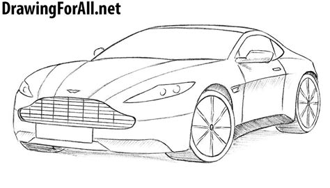 draw  aston martin drawingforallnet