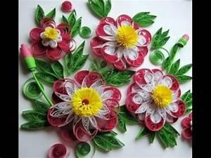 Blumen Aus Papier : blumen aus papier selber machen quilling technik youtube ~ Udekor.club Haus und Dekorationen