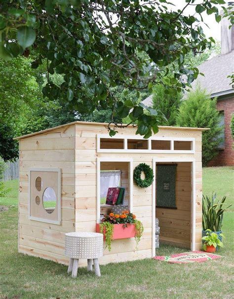 kinder garten spielhaus spielhaus holz diy indoor playhouse backyard