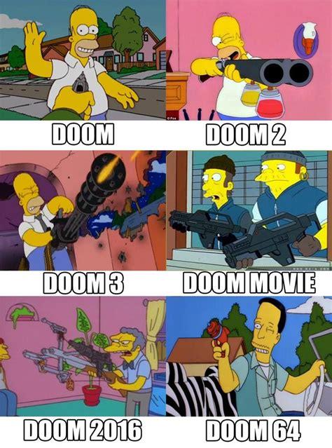 doom simpsons spongebob comparison charts   meme