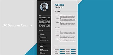 Resume Creator Design by 5 Secrets To Design An Excellent Ux Designer Resume And