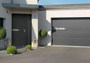 Porte De Garage Gris Anthracite : la porte de garage atlantem s adapte vos envies ~ Melissatoandfro.com Idées de Décoration