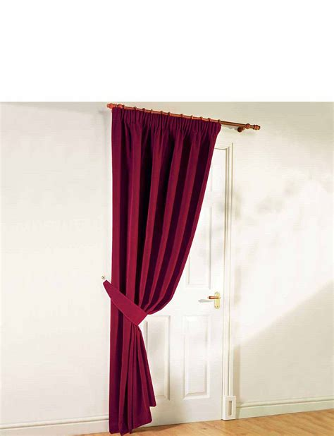 thermal velour door curtains home textiles