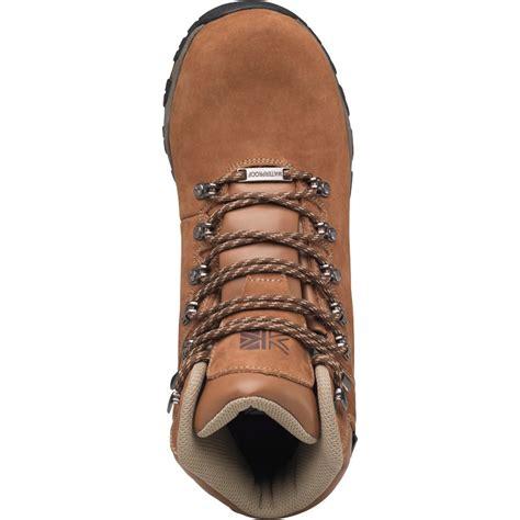 buy karrimor mens mendip nubuck 2 weathertite hiking boots