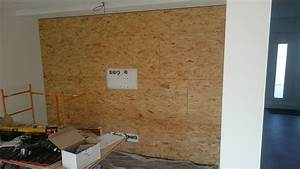 Holz Auf Fliesen Kleben : multimedia wohnzimmer mit naturstein verblender selber bauen ~ Markanthonyermac.com Haus und Dekorationen