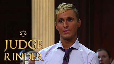 never judge a judge rinder