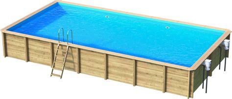 holzpool roctax schwimmbecken blockbohlen bausatz