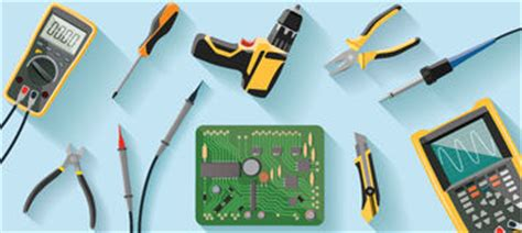 outils de bureau technicien de laboratoire stock illustrations vecteurs