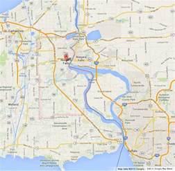 Niagara Falls Canada Border Map