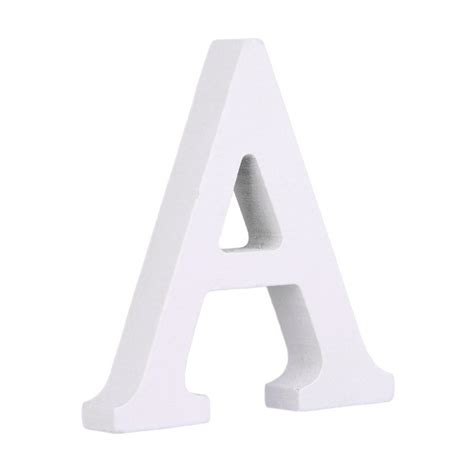 Black wooden letters alphabet for diy crafts personalised name home wall decor. Decorative White Wood Letters Hanging Wall 26 Letters Ornaments Wooden Alphabet Wall Letter for ...