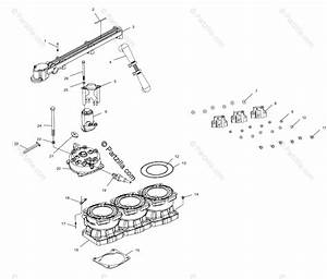 Polaris Watercraft 2001 Oem Parts Diagram For Manifold    Ignition