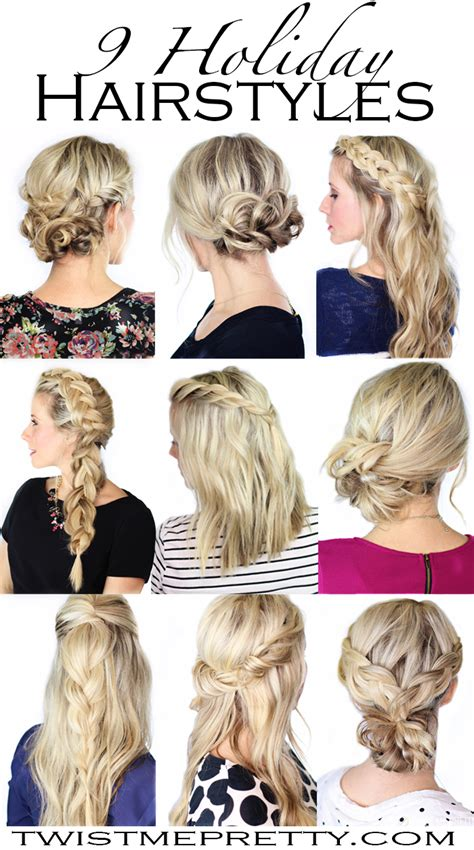 9 holiday hairstyles twist me pretty