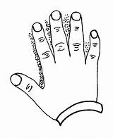 Hand Coloring Pages Hamsa Printable Getcolorings sketch template