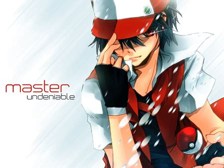 Red The Pokemon Master images RED wallpaper and background