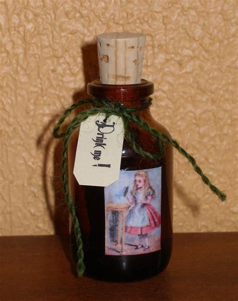 alice  wonderland bottle     storage bottle