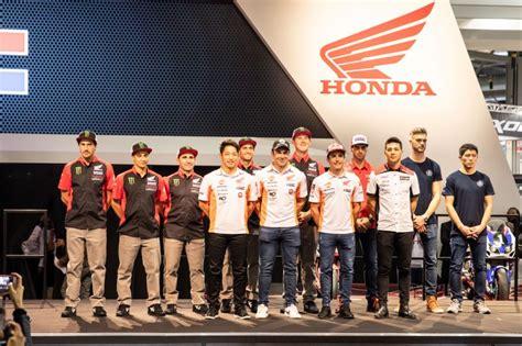 2019 Honda Line Up by Hrc Honda Announce 2019 Factory Line Up 187 Gatedrop