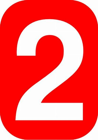 Number Svg Clker Clip Rounded Rectangle Numbers