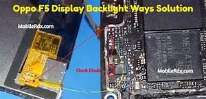 Oppo F5 Display Light Ways Backlight Jumper Solution