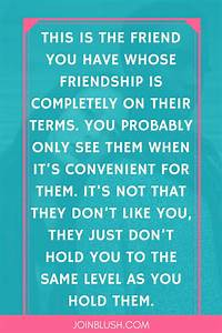 How to Handle Bad Friends | Best Friendship quotes, Bad ...