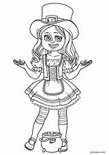 Leprechaun Coloring Pages Sheets Printable Irish Amazing Clipart Midsummer Dream sketch template