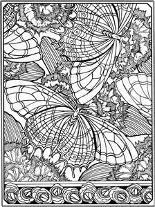 Coloring Book Page Stress Relief