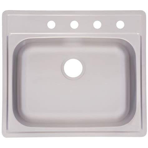 single sinks kitchen frankeusa fhp drop in satin stainless steel 25 in 4 2250