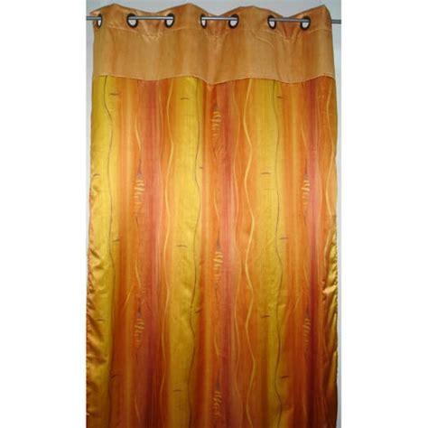 rideau quot nausicaa quot coloris jaune et orange tous les