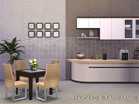 sims resource marbletiles wall  paogae sims