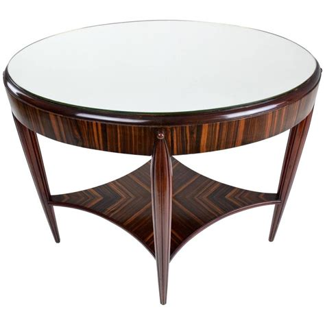 deco zebrano console table 1930 s for sale at 1stdibs