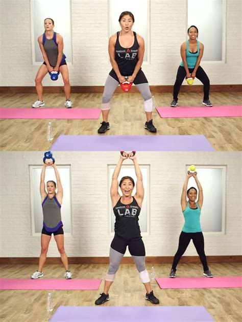 swing kettlebell swings crossfit popsugar butt loss weight workout minute exercises workouts fitness fat core tone done strength training