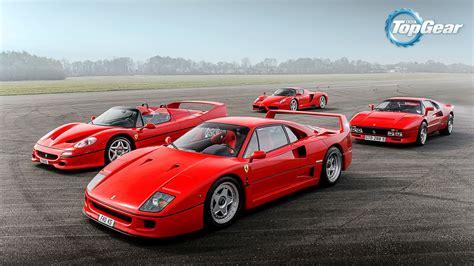 F50 Top Gear by The F40 F50 288 Gto And Enzo Fond D 233 Cran Hd
