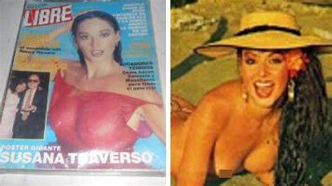 Susana Traverso Me Volvería A Desnudar En El Cine Teleshow
