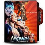 Folder Icon Dc Tomorrow Legends Season V1