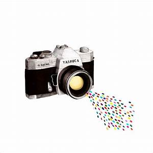 Appareil Photo Vintage : affiche illustration appareil photo vintage de daniela ~ Farleysfitness.com Idées de Décoration