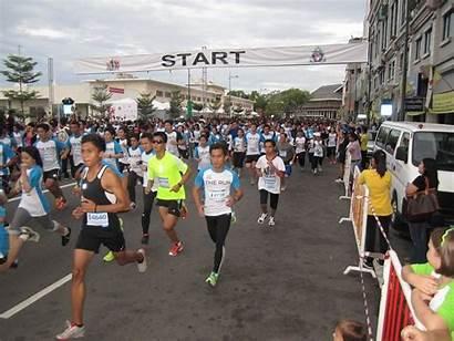 Run Brunei Finally Turn Then Start Line