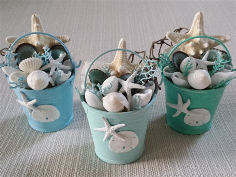 beach decor beach pail beach christmas ornament coastal