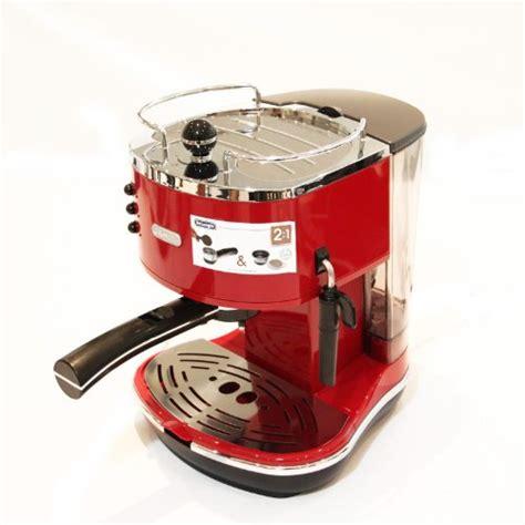delonghi eco310 r de 39 longhi icona eco310 r espresso machine scarlet