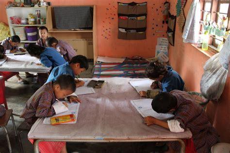 child learns unicef bhutan