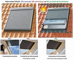 Volet Roulant Pour Velux : store electrique pour velux ~ Dailycaller-alerts.com Idées de Décoration