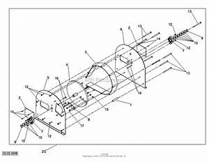 Dr Power 9hp Chipper Model  C9  Ser  0100a To 01760a