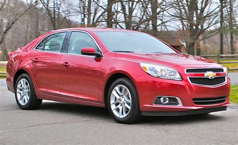 Review 2013 Chevrolet Malibu Eco Front 78 Action View