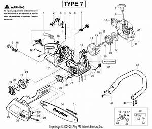 Poulan 2055 Gas Chain Saw Type 7  Woodsman 2055 Gas Saw