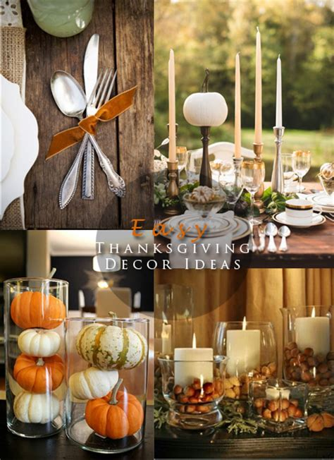 easy thanksgiving decorations easy thanksgiving decor ideas blushing black