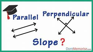 Slopes Of Parallel And Perpendicular Lines   Gmat    Gre