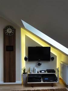 Bilder Für Wand : tv wand f r dachschr ge m bel design idee f r sie ~ Whattoseeinmadrid.com Haus und Dekorationen