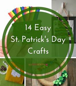14 Easy St Patrick's Day Crafts AllFreeSewing com